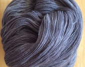 Dark Steel Gray Great Basin Lace - Moon Stone Farm Yarn