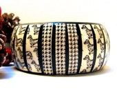 Dachshund Bracelet, Dachshund Jewelry, Christmas Gift for Doxie Lover, Dog Print Accessories