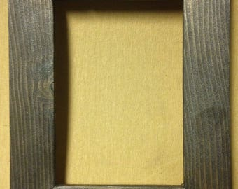 "1-1/2"" Rubbed Bronze Picture Frame"