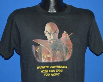 80s Ming the Merciless Flash Gordon Iron On t-shirt Medium