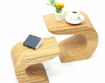 Miniature Modern Table, Modern Mini, Mod, Wood Table, Mini Furniture, Miniature Furniture, Mini Table, Dollhouse Miniature