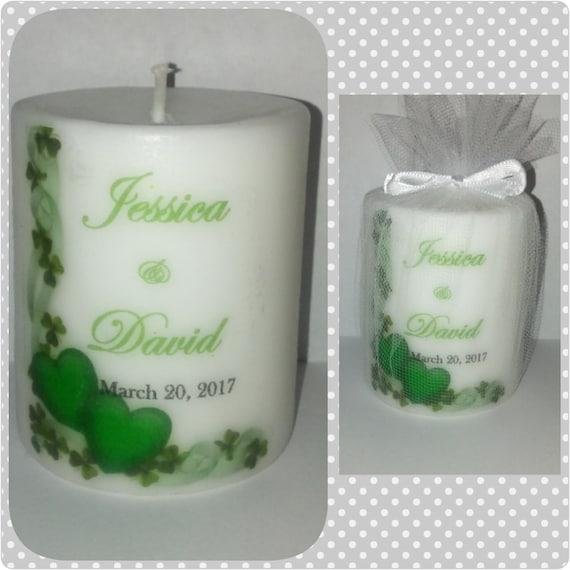 Irish Wedding Gifts From Ireland: Irish Wedding Favor Favors Wedding Souvenir Candle Favors