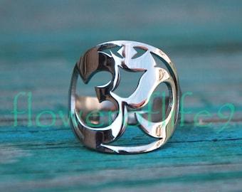 Symbol of OM ring II - Stainless Steel