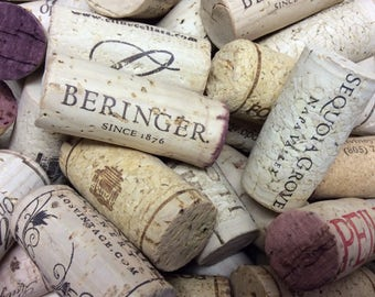 Bulk Used Wine Corks - Lot of 25 Wine Corks - No Synthetic Corks or Champagne Corks - Wine Cork Crafts - Wine Cork DIY - Used Wine Stoppers