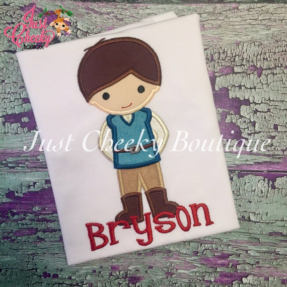 Flynn Ryder Cutie - Eugene Fitzherbert - Tangled Inspired Embroidered Shirt - Disney Boys Shirt - Disney Birthday Shirt