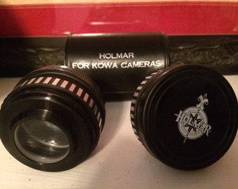 Vintage holmar lenses for kowa cameras.
