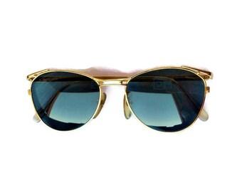 Jean Paul Gaultier luxury sunglasses vintage 90s steampunk made in japan