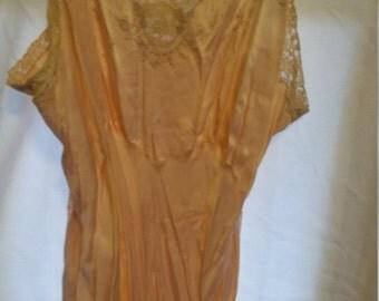Vintage 30' style silk slip