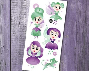 Temporary Tattoos - Fairy