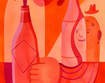 Hot Sauce ORIGINAL painting