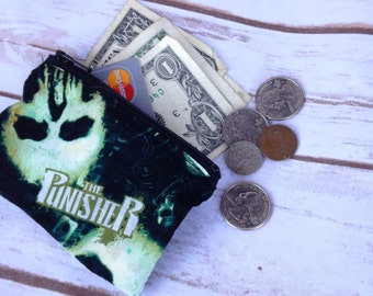 Punisher Coin Purse - Ready to Ship