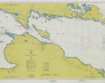 Lake charlevoix map  Etsy