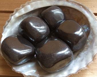 Hematite Large Tumbled Stones, Healing Stone, Healing Crystal, Chakra Stone, Spiritual, Stone, Gemstone