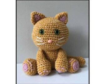 PATTERN: Marigold the Cuddly Crochet Cat