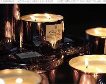 Makassar Ebony & Peach By Voluspa Designer Type Premium Fragrance Oil Available In Several Sizes