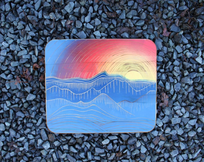 Setting Sun Cutting Board