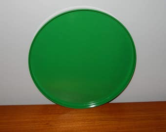 Vintage Green Heller Melamine Tray from 1978 - A Massimo Vignelli Design