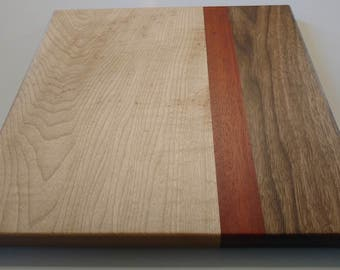 Exotic Hard Wood Charcuterie Board - Face Grain