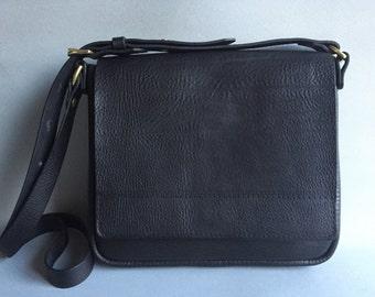 Small leather bag, black leather bag, leather shoulder bag, small evening bag, black leather purse, black handbag, small cross body bag, bag