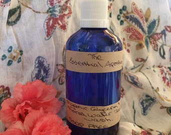Soap Free Organic Glycerine and Floral Water Face Wash