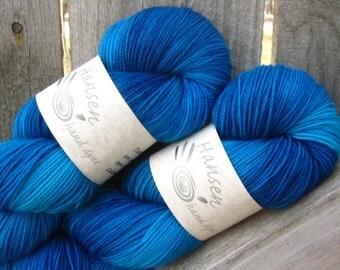 Boys Don't Cry - Twisty BFL - BFL/Nylon - Hand Dyed Sock Yarn