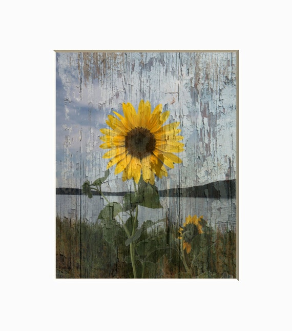 Sunflower Home Decor: Rustic Sunflower Decor Country Rustic Home Decor Theme