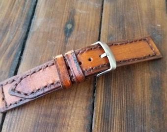 Genuine Leather Watch Band, Panerai Strap, Leather Watch Strap, Men's Panerai Band, Watch Bands, Leather Straps, Panerai Watch Strap