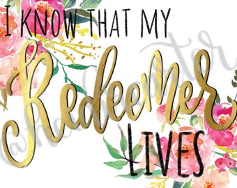 I know that my Redeemer Lives bundle