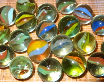 Cats Eye Marbles Etsy