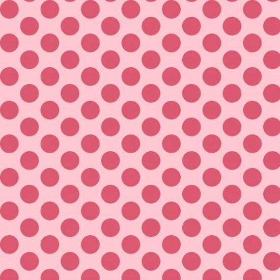 Dear Heart Polka Dot Fabric