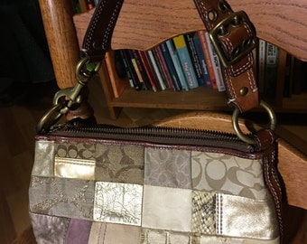 Patchwork Bag Coach Brand