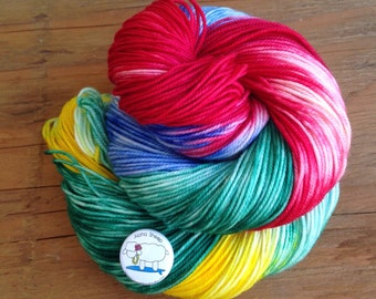 Aloha Sheep - Hand Dyed Yarn