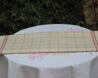 metis linen for towel new never been used