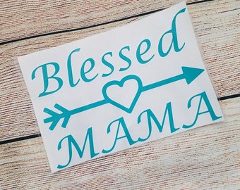 Blessed Cup Decal Etsy - Vinyl decals for cups