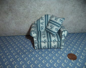 1:12 scale Dollhouse Miniature Living room Chair