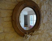 Mirror Antler Wood Circular