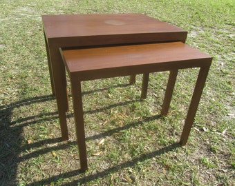 MCM.nesting Tables, Vintage Tables,stack Tables, End Table, Wood Table