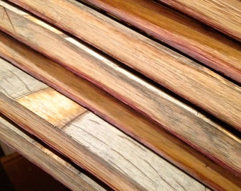 Wine Barrel Staves- 3 pieces