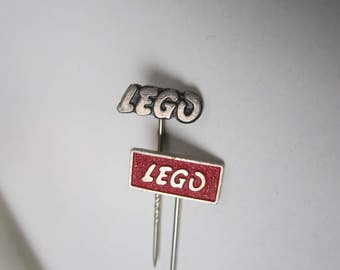 vintage LEGO (R) pins from the 50's - 60's