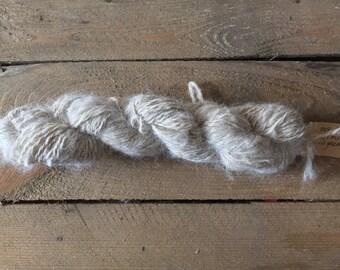 Handspun Alpaca Yarn, 100% Alpaca yarn, Handspun Yarn.