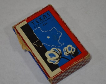 Texas Centennial 1936 Playing Cards Boxed