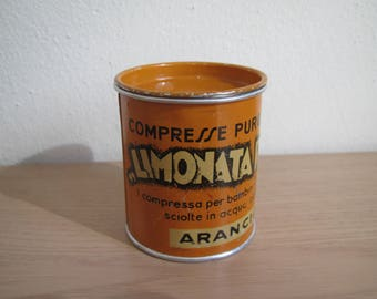 Vintage Limonata Roge Laxative Medicine Tin, Pharmacy Tin