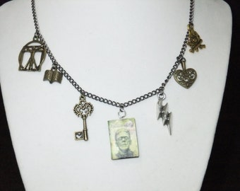 Frankenstein Book Necklace - Great Gift for Book Lovers!