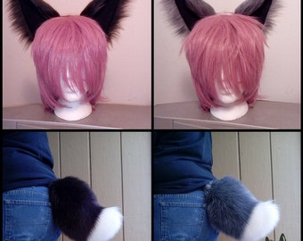 Eevee-Inspired Cosplay Ears and Tail