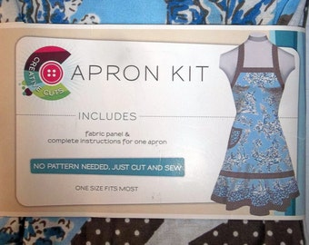 Apron Kit - Complete Kit For One Apron - No Pattern Needed - One Size Fits Most