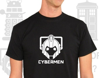 T-shirt Men Short Sleeve Doctor Who? Cybermen