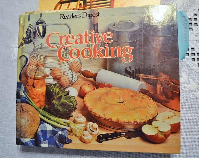 Vintage Creative Cooking Cookbook Readers Digest Third Printing 1978 Hardcover Cookbook Panchosporch