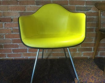 Herman Miller Leather Shell Chair