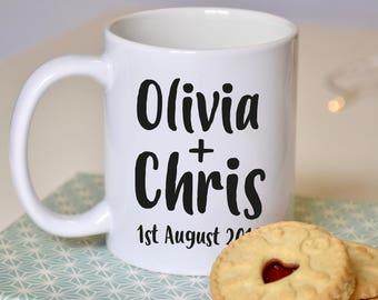 Wedding Engagement Couple Mug