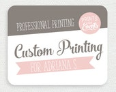 Professional printing of stickers